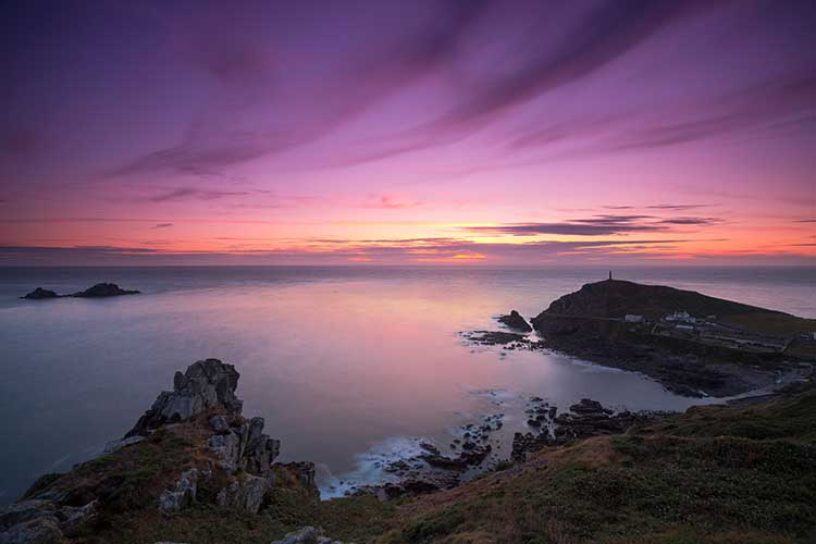 [St Just - Sunset over Cape Cornwall #5]