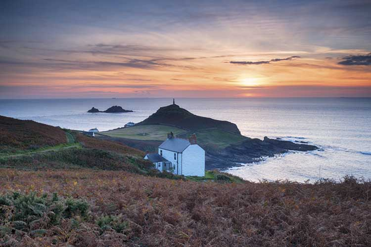 [St Just - Sunset over Cape Cornwall #1]
