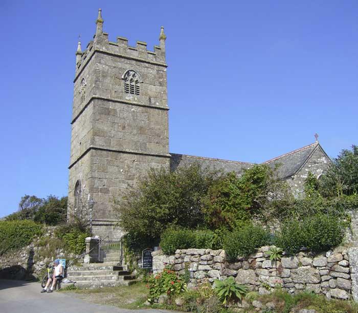 [St Senara's Church #2, Zennor, Cornwall]