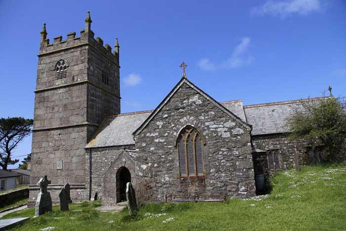 [St Senara's Church #3, Zennor, Cornwall]