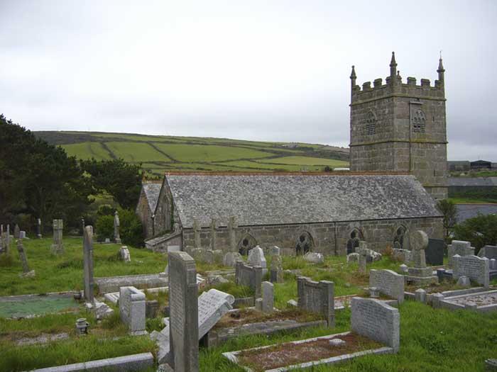 [St Senara's Church #4, Zennor, Cornwall]