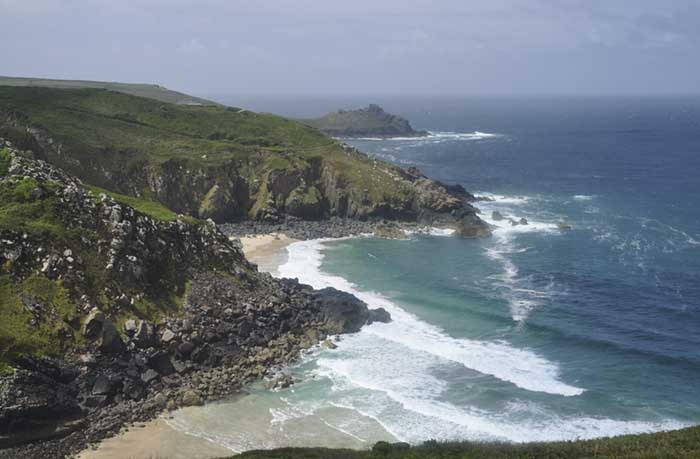 [Pendour and Veor Coves, Zennor, Cornwall]