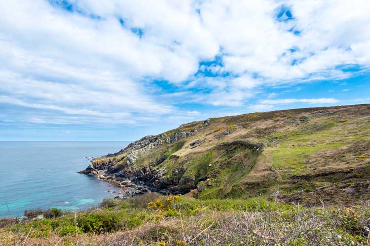 [River Cove and Towednack Quae Head and Trevega Cliff]