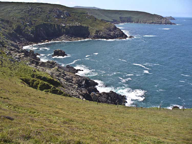 [from Mussel Point to Wicca Pool and Porthzennor Cove]
