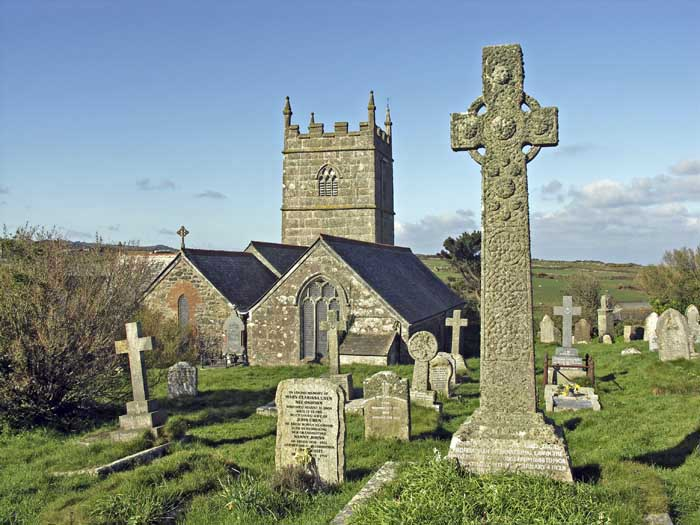 [St Senara's Church, Zennor, Cornwall]